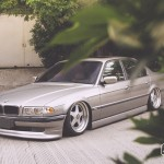 Tailor-made // BMW E38 7-Series on OZ Futura