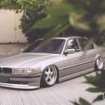 Tailor-made // BMW E38 7-Series on OZ Futura
