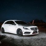 Anti-Gravity // Mercedes-Benz A250 on Vorsteiner