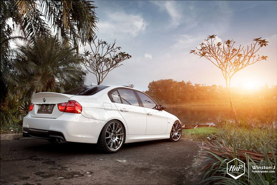 BMW Performance Exhaust >> Against The Current // E90 on Volk Rays G12