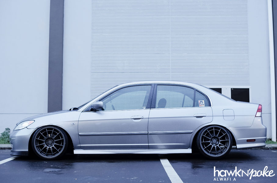 Mini Cooper Wheels On Civic >> Stance Off // Civic ES on Enkei