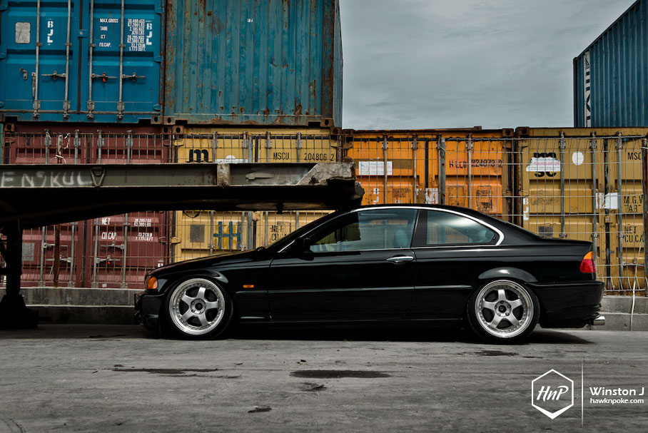 Ground Level // Donny's 330Ci on Work Meister