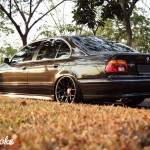 Stance Off // E39 5 Series on BBS