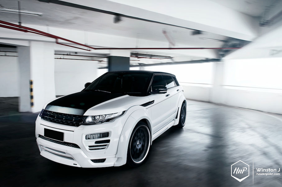 Range Rover Evoque >> BOLD // Widebody Hamann Evoque