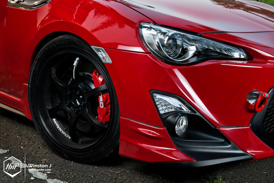 Pure Bred Boosted Gt86 On Advan