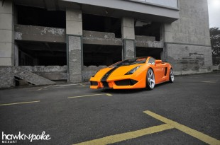 lambor-01 (A Composer // Lamborghini Gallardo on Rennen Forged)
