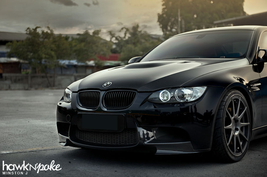 Black And Wild E92 M3 On Adv 1
