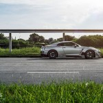 Along the Line // Nissan GT-R on Advan