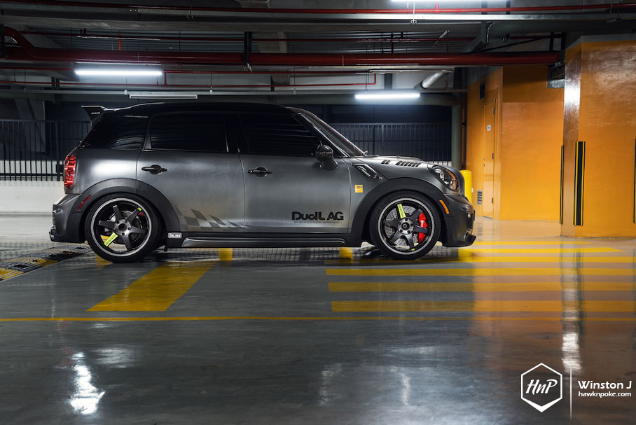 Titan Duell Ag Mini Countryman On Volk Racing